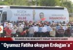 İhsanoğlu'na Memleketi Yozgat'tan kötü haber