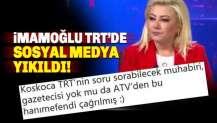 İmamoğlu TRT'ye İlk Kez çıktı, Sosyal medya yıkıldı
