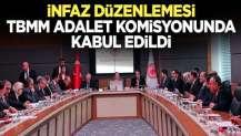 İnfaz düzenlemesine ilişkin kanun teklifi Meclis'te kabul edildi