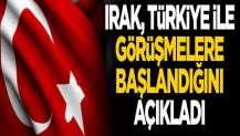 Irak'tan Türkiye açıklaması: Vize görüşmeleri başladı