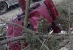 Isparta-Antalya karayolunda kaza: 1 ölü, 3 yaralı