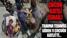 İsrail hava saldırısında travma tedavisi gören 11 çocuk öldü
