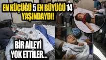 İsrail savaş uçakları Gazze'yi bombaladı! Çocukları katlettiler...