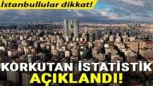 İstanbul depremi için korkutan istatistik!