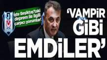 İşte Beşiktaş'taki deprem ile ilgili çarpıcı yorumlar! 'Vampir gibi emdiler'