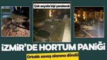 İzmir'de hortum paniği
