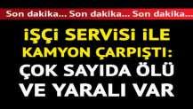 İzmir'de korkunç kaza: 4 ölü, 8 yaralı