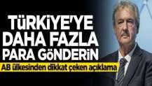 Jean Asselborn: Türkiye'ye daha fazla para gönderin