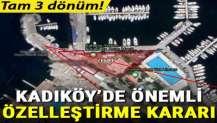 Kadıköy'de önemli özelleştirme kararı! Yat Limanı'nda tam 3 dönüm