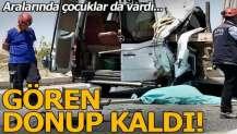 Kahramanmaraş'ta feci kaza! Ölü ve yaralılar var...