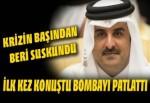 Katar Emiri Al Sani'den bomba açıklama