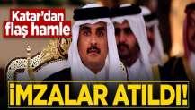 Katar'dan 'millileştirme' hamlesi! İmzalar atıldı