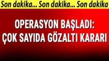 Kayseri merkezli 11 ilde FETÖ operasyonu: 31 gözaltı kararı, 15 gözaltı