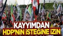 Kayyımdan HDP'nin isteğine izin