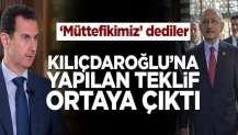 Kemal Kılıçdaroğlu'na yapılan teklif ortaya çıktı