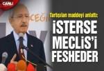 Kılıçdaroğlu Bursa'da yeni anayasayı anlatıyor
