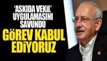 Kılıçdaroğlu iki partiye destek vereceklerini söyledi!