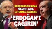 Kılıçdaroğlu'ndan 'yürekli' savcılara çağrı: Erdoğan'ı çağırın