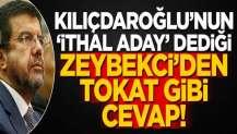 """Kılıçdaroğlu'nun """"ithal aday"""" dediği Zeybekci'den tokat gibi cevap!"""