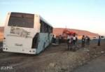 Kırşehir'de yolcu otobüsü şarampole uçtu