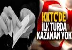 KKTC'de seçimler ikinci tura kaldı