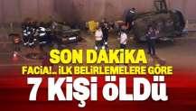 Konya'dan feci kaza: İlk belirlemelere göre 7 kişi hayatını kaybetti