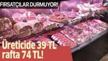 Koronavirüs fırsatçıları yine iş başında! Kırmızı ette büyük oyun! Üreticide 39 lira rafta 74 lira!