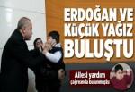 Küçük Yağız, Cumhurbaşkanı Erdoğan'la buluştu.