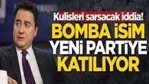 Kulisleri sarsacak iddia! Bomba isim yeni partiye katılıyor