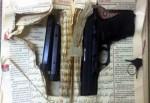 Kur'an içerisine gizlenmiş silah ele geçirildi