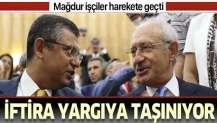 """Mağdur işçilere """"asalak"""" diyen CHP'li Özgür Özel'e suç duyurusu."""