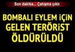 Malatya'da çatışma: Bombalı eylem için gelen terörist öldürüldü