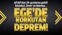 Manisa'da 5.5 büyüklüğünde deprem! İzmir, Aydın ve Muğla'da da hissedildi