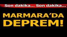 Marmara'da 3.6 büyüklüğünde deprem
