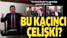 Meclis'teki terör konuşmasıyla şov yapan Veli Ağbaba, Demirtaş'ı ziyarete koştu