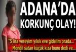 Mendil satan kıza tacize linç girişimini polis önledi