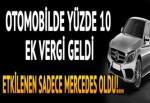 Mercedes'e Afrika zammı
