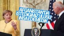 Merkel'den Afganistan yorumu