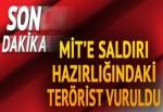 Mersin'de MİT binasına saldırı hazırlığındaki terörist vuruldu