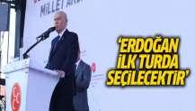 MHP Genel Başkanı Bahçeli: Erdoğan ilk turda seçilecektir