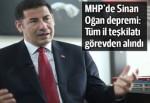 MHP Iğdır İl Teşkilatı görevden alındı