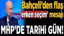 MHP'de büyük gün: Tüm gözler Ankara'da!