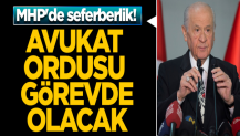 MHP'de seferberlik! Avukat ordusu İstanbul'da