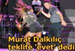 Murat Dalkılıç pankartı gördü, 'evet' dedi