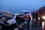 Muş'ta korkunç kaza: 3 ölü, 8 yaralı!