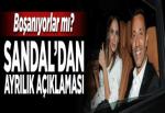 Mustafa Sandal'dan ayrılık açıklaması