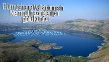 Nemrut Krater Gölü'nün eşsiz güzelliği