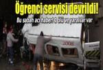 Öğrenci servisi devrildi: 1 öğrenci öldü, 18 yaralı
