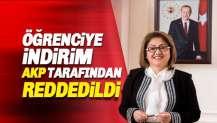 Öğrenciye İndirim, AKP tarafından reddedildi