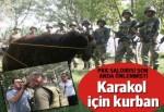 PKK saldırısının son anda önlendiği karakol için kurban kesildi